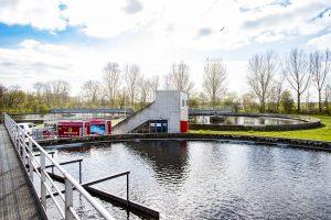 Uitdagend project: Modderkolk vervangt verdeler voor afvalwaterzuivering Leiden Zuidwest