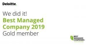 Best Managed Company 2019 Modderkolk titel