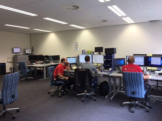 Een nieuw kantoor, dat betekent letterlijk een frisse start na de zomer!