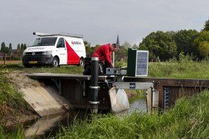 Werken bij Modderkolk Compact stuw besturing Watermanagement