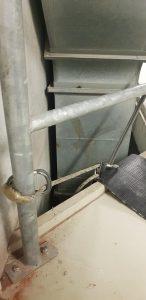 Brandmeld- en ontruimingsinstallatie aanleggen abseilen Modderkolk