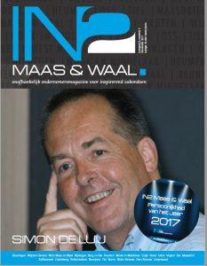 Persoonlijkheid van het jaar 2017 simon de luij IN2 Maas en Waal