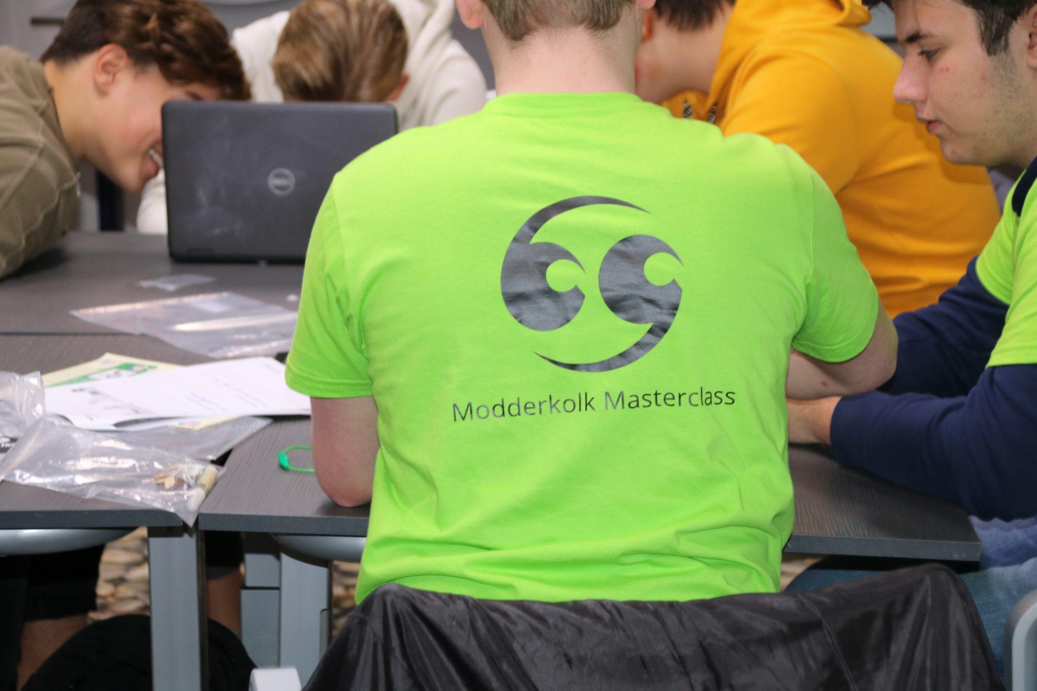 Leerlingen volgen Masterclass bij Modderkolk