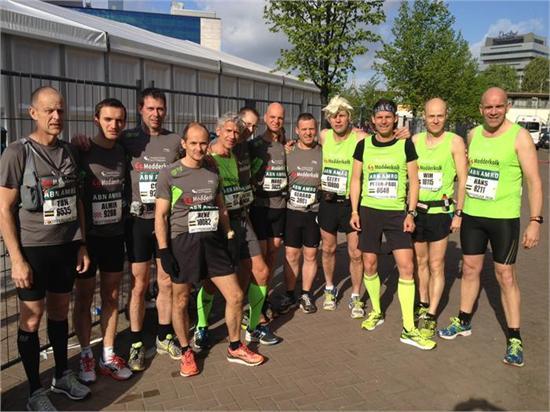 Modderkolk ook bij marathon Rotterdam goed vertegenwoordigd