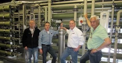 NXP bespaart een kwart miljoen m3 drinkwater