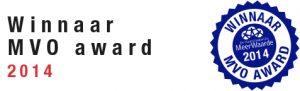 winnaar mvo award 2014 Modderkolk Meerwaarde logo