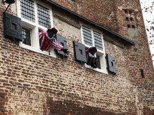 Sinterklaaskasteel Modderkolk kinderen van personeel