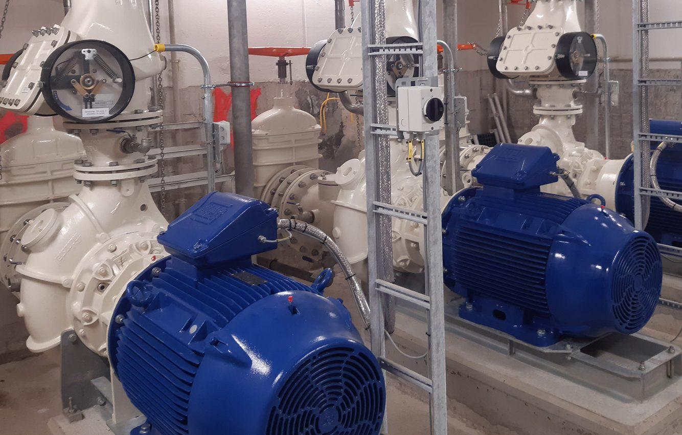 Renovatie rioolgemalen ANDO