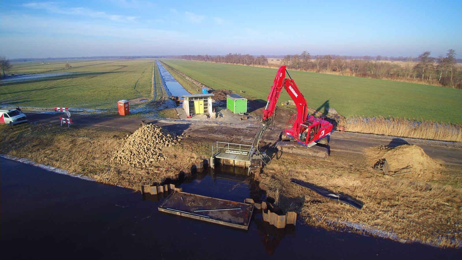 Grotere capaciteit gemaal Muzels ter voorkoming wateroverlast.